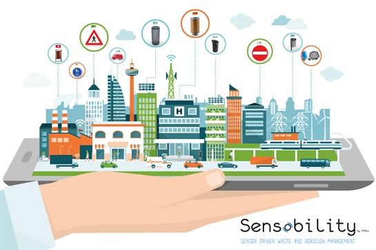 Sensobility - sensor driven waste and roadsign management